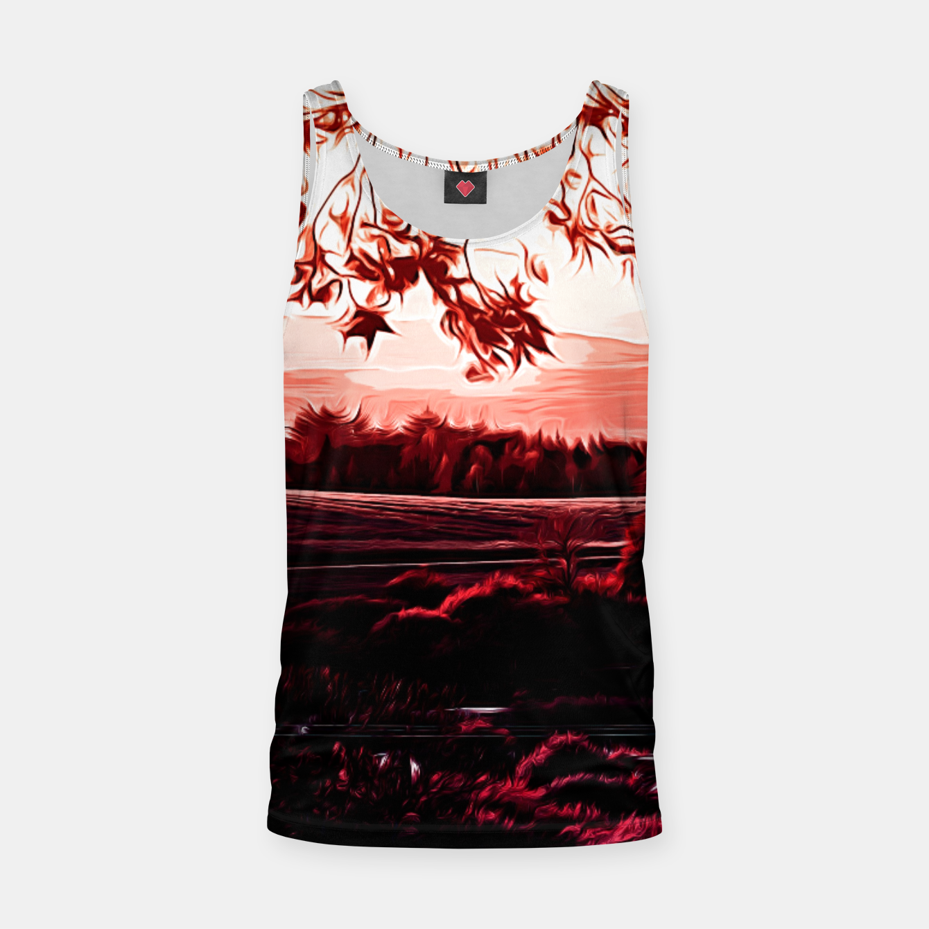 Image of idyllic nature landscape va2s Tank Top - Live Heroes