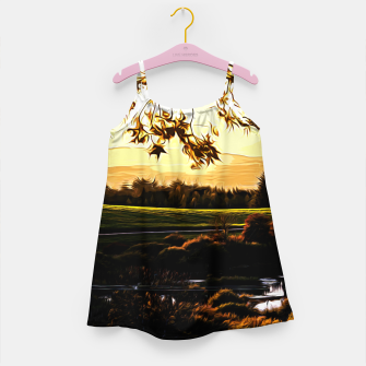 idyllic nature landscape vastd Girl's dress thumbnail image
