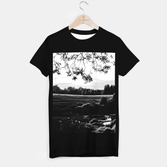 Thumbnail image of idyllic nature landscape vabw T-shirt regular, Live Heroes