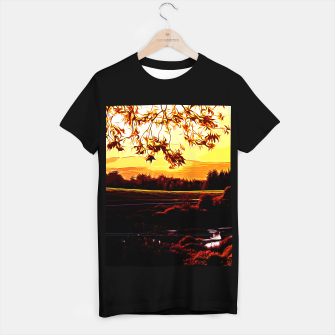 Thumbnail image of idyllic nature landscape vayr T-shirt regular, Live Heroes