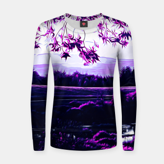 idyllic nature landscape vadb Women sweater thumbnail image