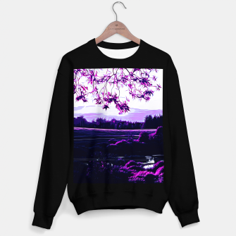 idyllic nature landscape vadb Sweater regular thumbnail image