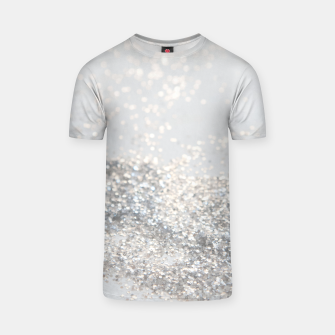 Silver Gray Glitter #3 #shiny #decor #art T-Shirt thumbnail image