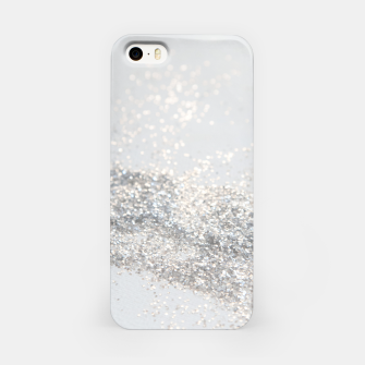 Silver Gray Glitter #3 #shiny #decor #art iPhone-Hülle thumbnail image