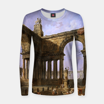 The Landing Place by Hubert Robert Women sweater thumbnail image