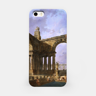 The Landing Place by Hubert Robert iPhone Case thumbnail image
