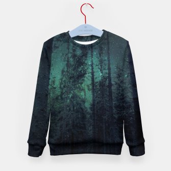 Thumbnail image of Light up the sky Kid's sweater, Live Heroes