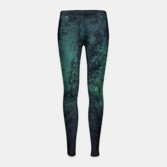Thumbnail image of Light up the sky Girl's leggings, Live Heroes
