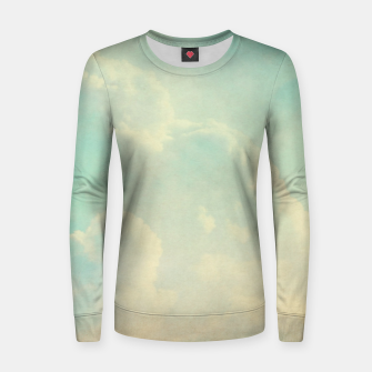 Thumbnail image of Pastel skies Women sweater, Live Heroes