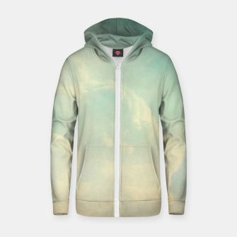 Thumbnail image of Pastel skies Zip up hoodie, Live Heroes