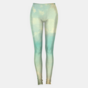 Thumbnail image of Pastel skies Leggings, Live Heroes