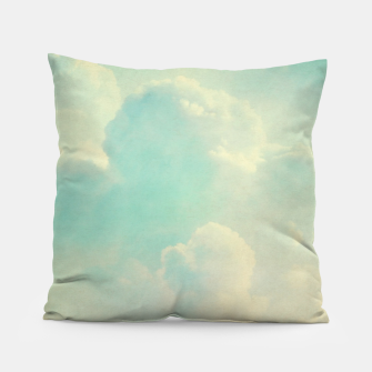 Thumbnail image of Pastel skies Pillow, Live Heroes