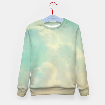 Thumbnail image of Pastel skies Kid's sweater, Live Heroes
