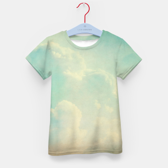 Thumbnail image of Pastel skies Kid's t-shirt, Live Heroes
