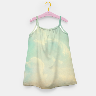 Miniatur Pastel skies Girl's dress, Live Heroes