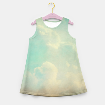 Thumbnail image of Pastel skies Girl's summer dress, Live Heroes