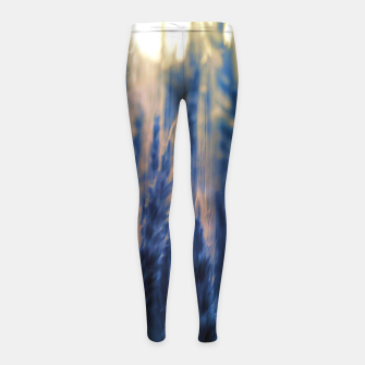 Thumbnail image of Harvest retro Girl's leggings, Live Heroes