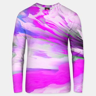 Friendly Enemy Glitched Fluid Art Unisex sweater thumbnail image