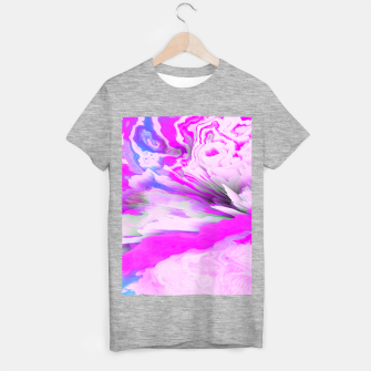 Friendly Enemy Glitched Fluid Art T-shirt regular thumbnail image