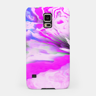 Friendly Enemy Glitched Fluid Art Samsung Case thumbnail image