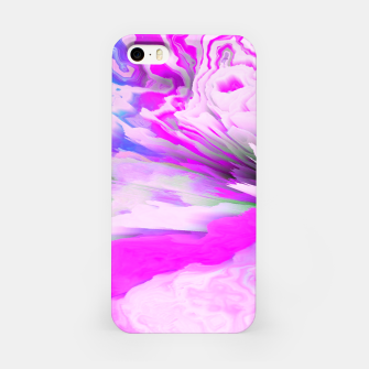 Friendly Enemy Glitched Fluid Art iPhone Case thumbnail image