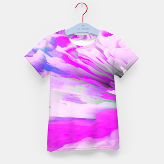 Thumbnail image of Friendly Enemy Glitched Fluid Art Kid's t-shirt, Live Heroes