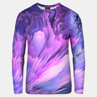 Thumbnail image of Harmful Help Glitched Fluid Art Unisex sweater, Live Heroes