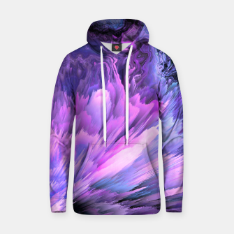 Thumbnail image of Harmful Help Glitched Fluid Art Hoodie, Live Heroes