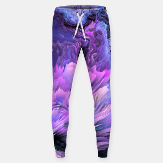 Harmful Help Glitched Fluid Art Sweatpants thumbnail image