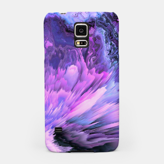 Harmful Help Glitched Fluid Art Samsung Case thumbnail image