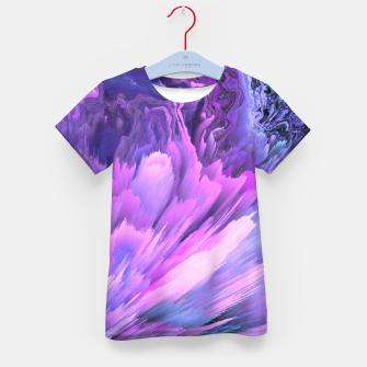 Thumbnail image of Harmful Help Glitched Fluid Art Kid's t-shirt, Live Heroes