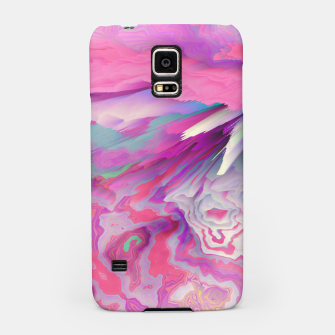 Loud Silence Glitched Fluid Art Samsung Case thumbnail image