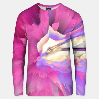 Eternal Ephemera Glitched Fluid Art Unisex sweater thumbnail image