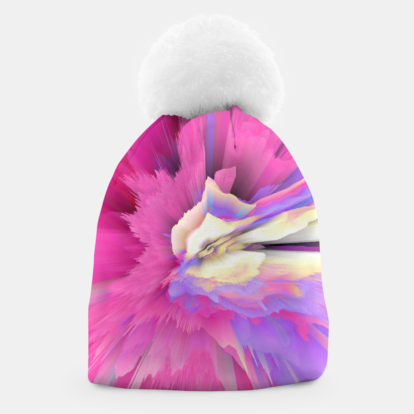 Image of Eternal Ephemera Glitched Fluid Art Beanie - Live Heroes