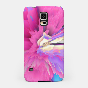 Miniatur Eternal Ephemera Glitched Fluid Art Samsung Case, Live Heroes