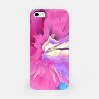 Eternal Ephemera Glitched Fluid Art iPhone Case thumbnail image