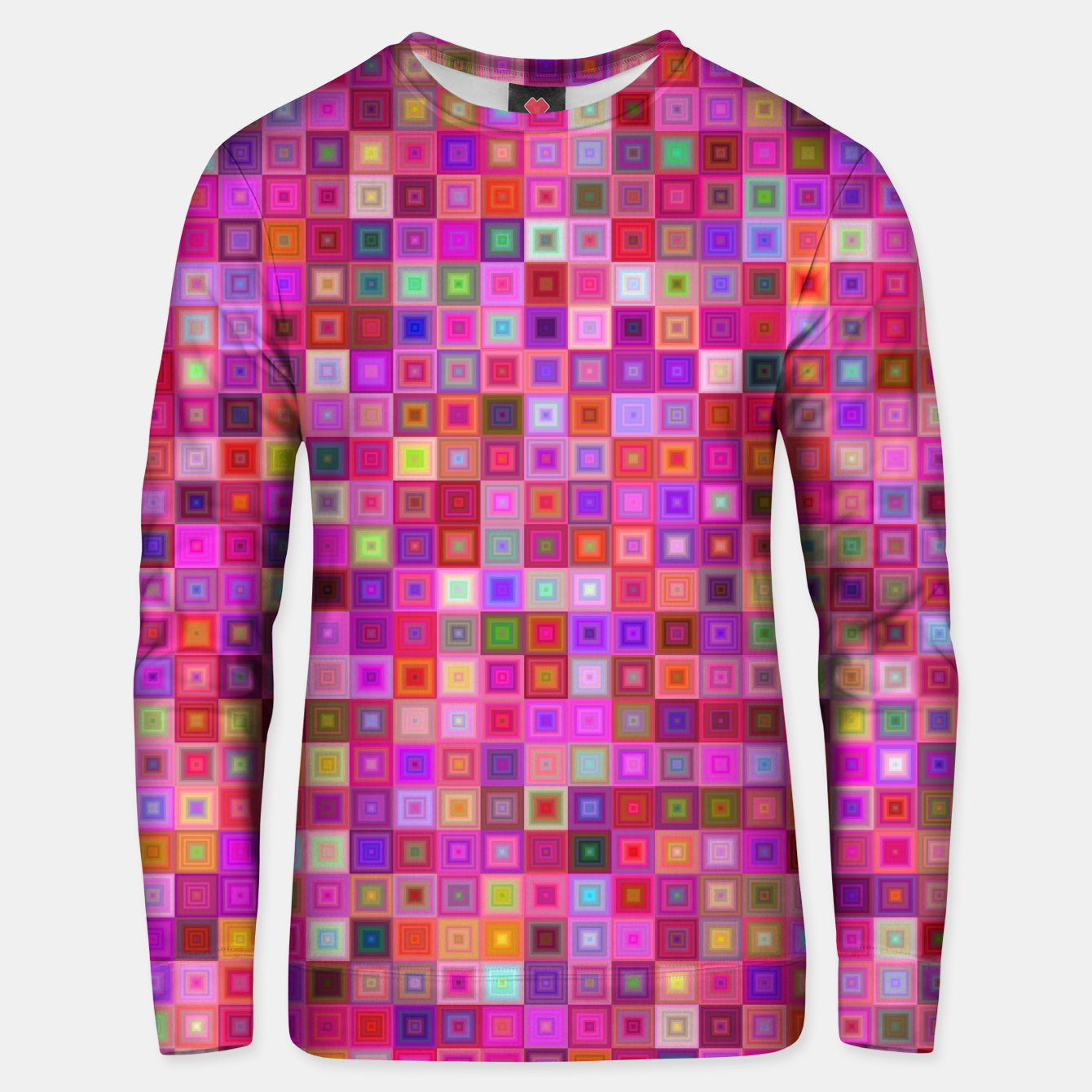 Image of Pink Mosaic Unisex sweater - Live Heroes
