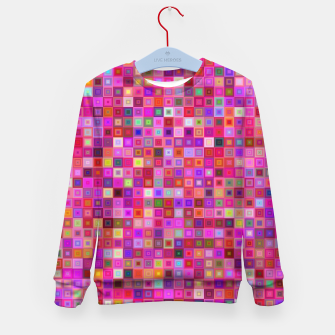 Pink Mosaic Kid's sweater thumbnail image