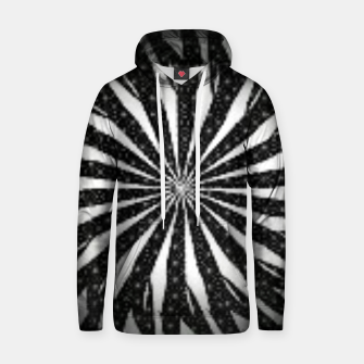 Black and White Optical Illusion  Hoodie miniature
