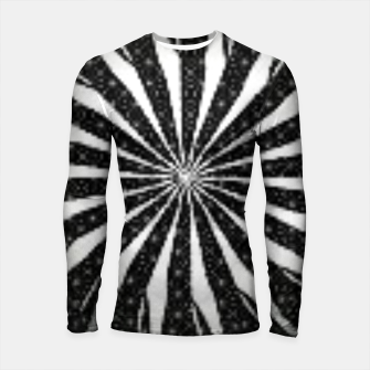 Black and White Optical Illusion  Longsleeve rashguard  miniature