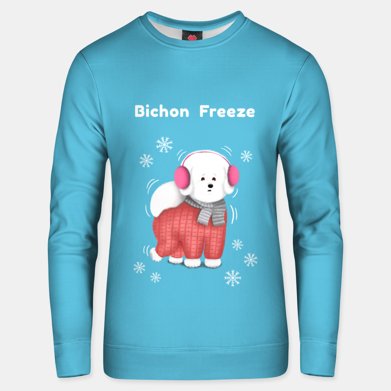 Image of Bichon Freeze Unisex sweater - Live Heroes