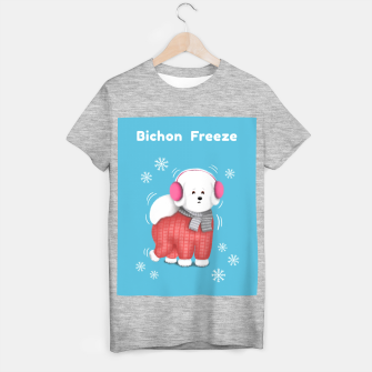 Thumbnail image of Bichon Freeze T-shirt regular, Live Heroes