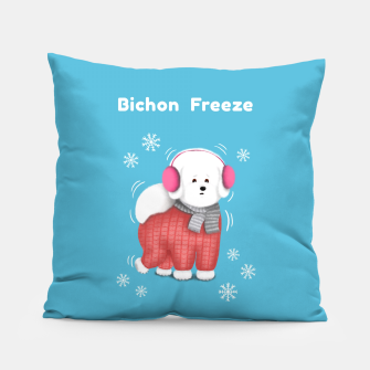 Bichon Freeze Pillow thumbnail image