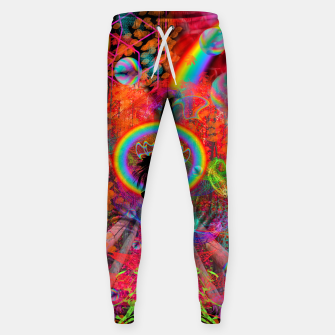 Autumn Fantasy Rainbow Witch (rainbow, psychedelic) Sweatpants thumbnail image