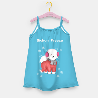 Bichon Freeze Girl's dress thumbnail image