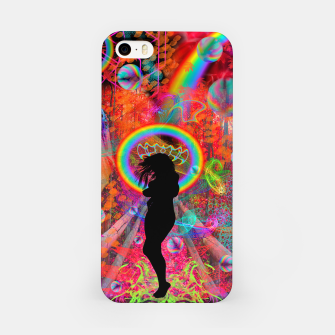 Autumn Fantasy Rainbow Witch (rainbow, psychedelic) iPhone Case thumbnail image