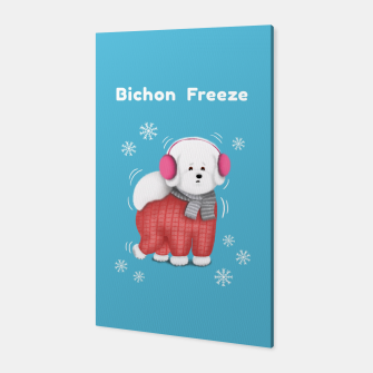 Thumbnail image of Bichon Freeze Canvas, Live Heroes