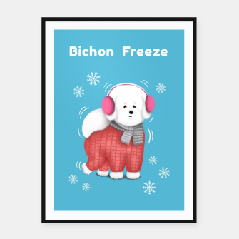 Thumbnail image of Bichon Freeze Framed poster, Live Heroes