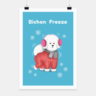 Thumbnail image of Bichon Freeze Poster, Live Heroes