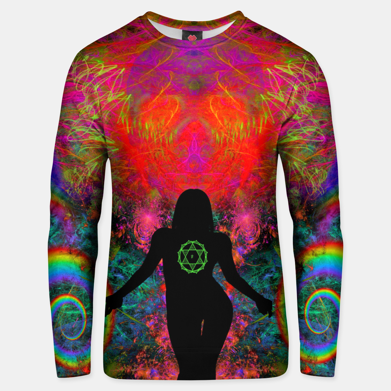Image of Warm Thoughts From Her Heart Unisex sweater - Live Heroes